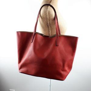 Handbags - Reddish/brown oversize shoulder bag